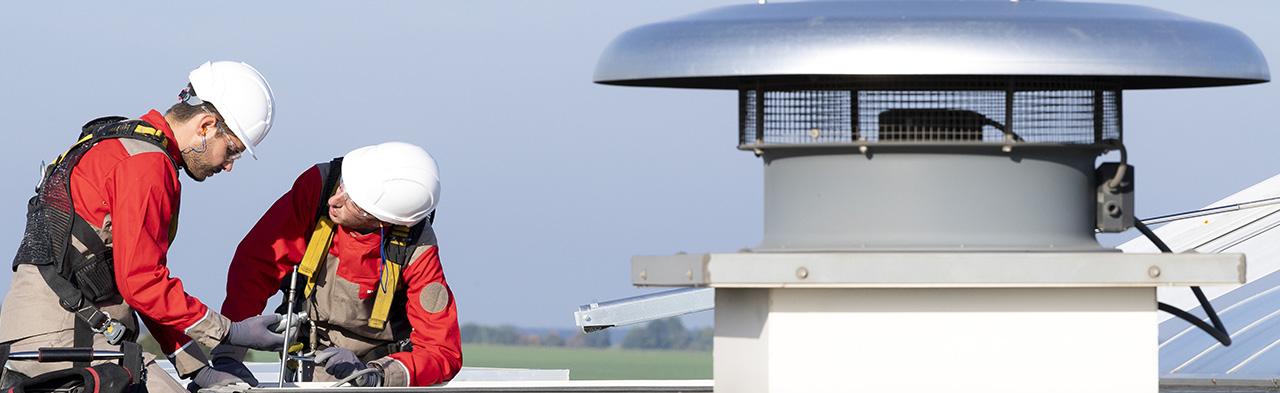Entretien des équipements de sécurité incendie et d'aération