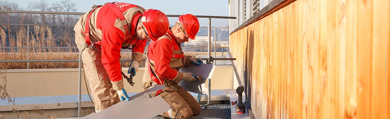 Réparation des façades et bardages