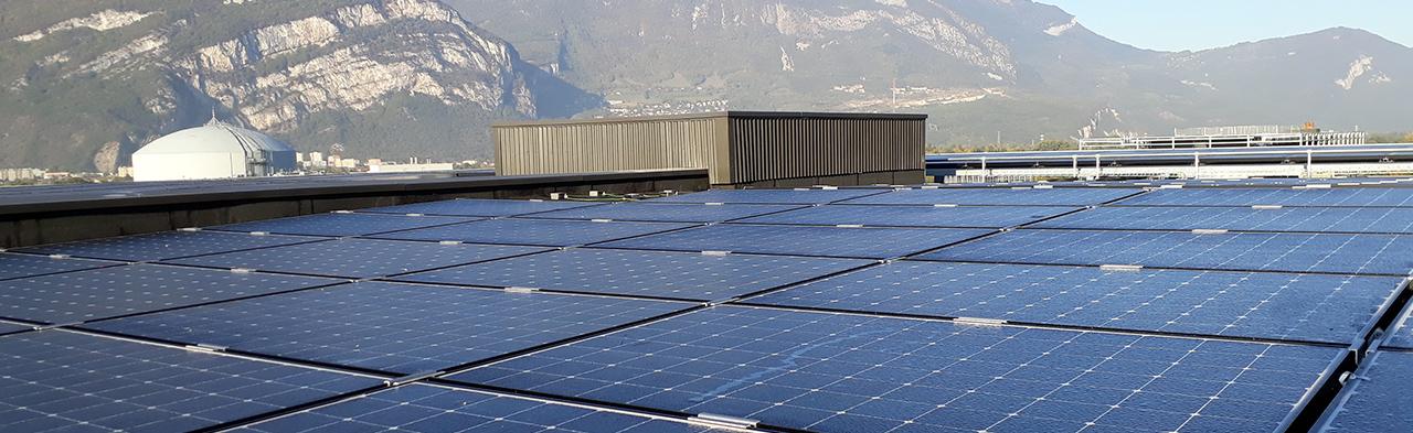 Les toitures solaires