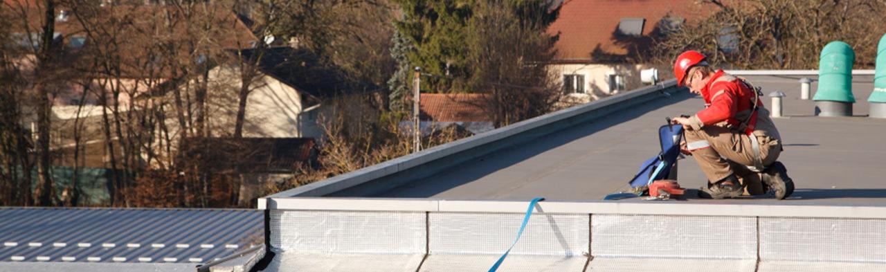 Réparation des toitures-terrasses et couvertures