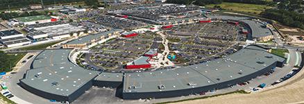 Centre commercial Cap Saran de Neuville-en-Ferrain - ©Franck Sonnet
