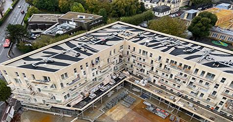 Ilot Panoramik de Saint-Martin - Rudy Ricciotti Architecte - ©Bouygues Construction Grand-Ouest