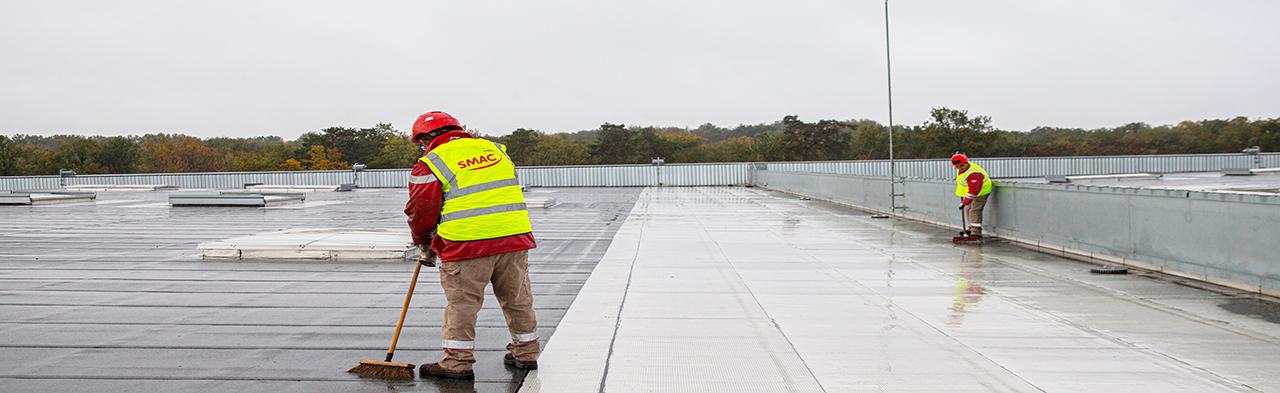Entretien des toitures-terrasses
