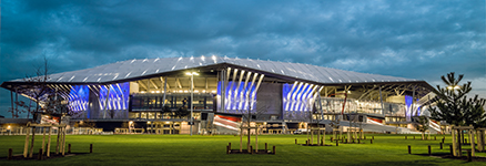 Stade des Lumières - Populous - ©Gille Di Nallo