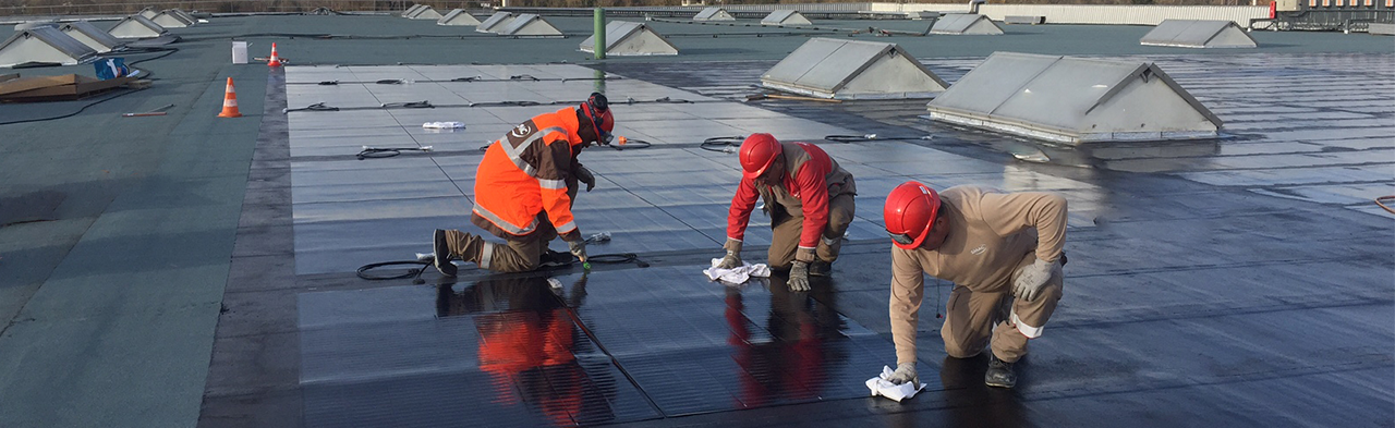 Entretien des toitures photovoltaïques